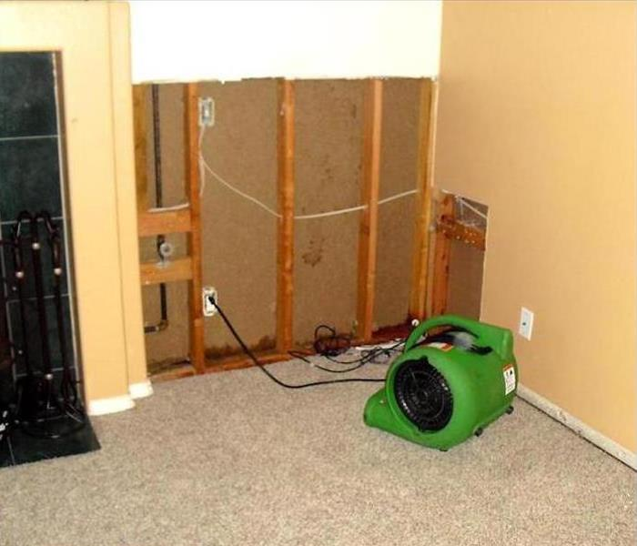 Water Damage – Oakville Home Before